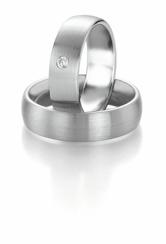 Trauringe Breuning Platin Design Collection 9068/9069 in Platin 950/-