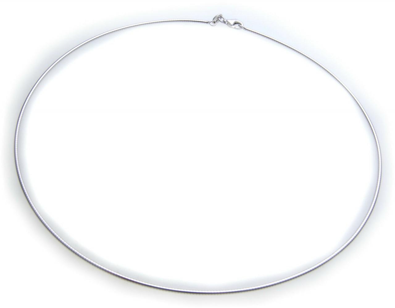 exkl Collier echt Silber 925 Sterlingsilber Halsreif Qualität Halskette Damen