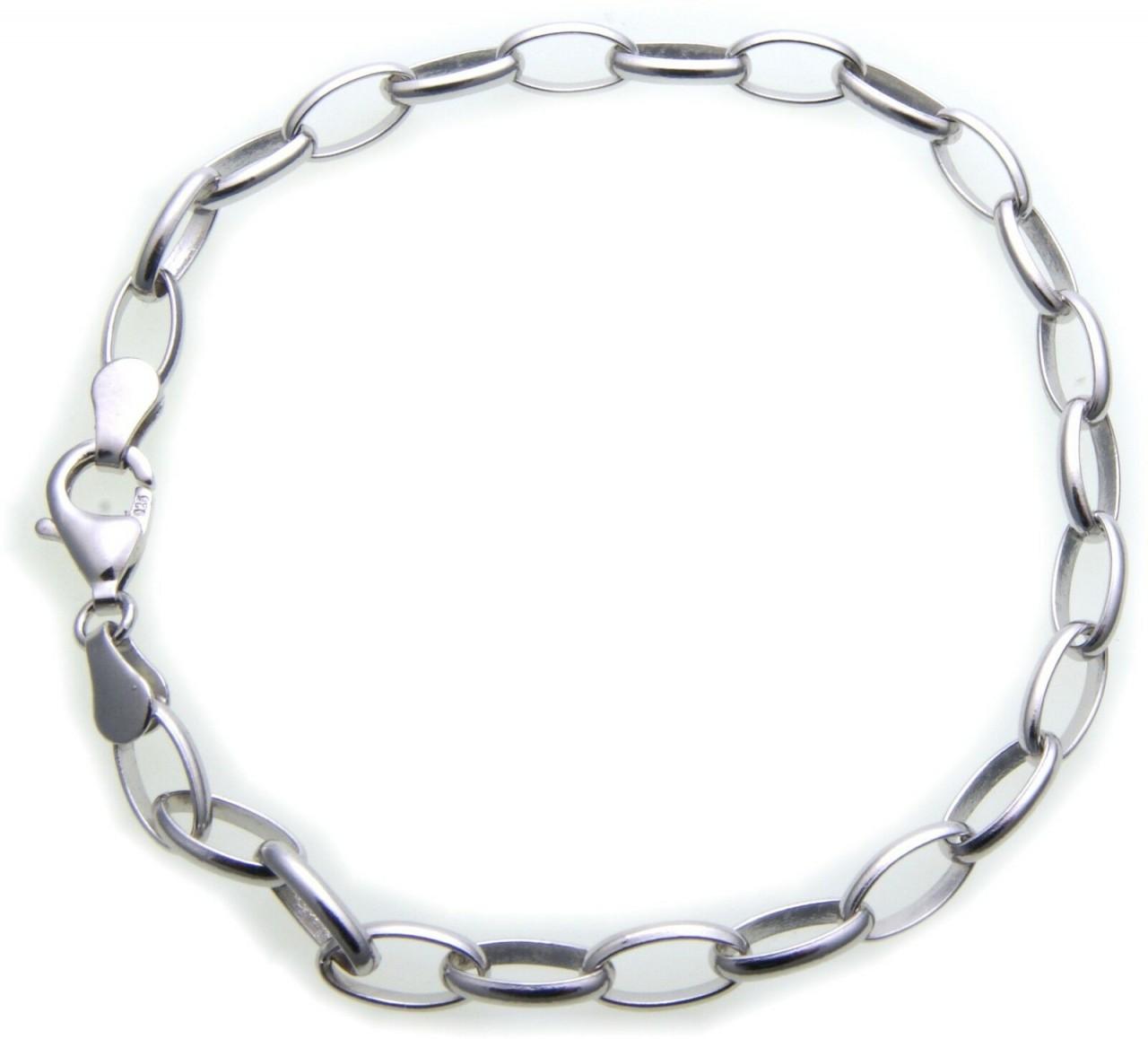 Damen Armband Kette für Charms Charm echt Silber 925 Einhänger Sterlingsilber