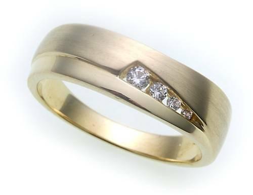 Neu Damen Ring echt Gold 333 Zirkonia mattiert Gelbgold Qualität günstig Top