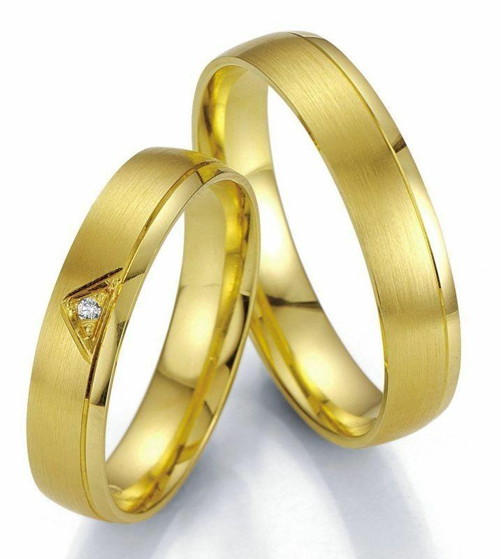 Trauringe Breuning Smartline Collection 7005/7006 in 585 Gold 14 kt