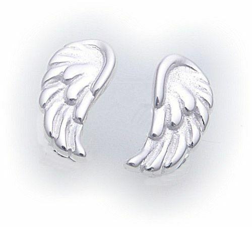Ohrringe Stecker Flügel Engel Silber 925 Engelsflügel Sterlingsilber Ohrstecker