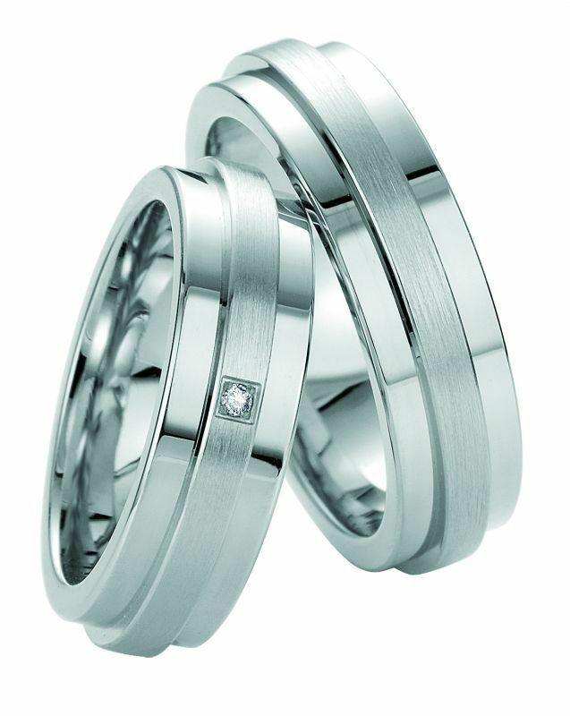 Trauringe Breuning Silver and Diamonds Collection 8047/8048 Silber 925 Ring