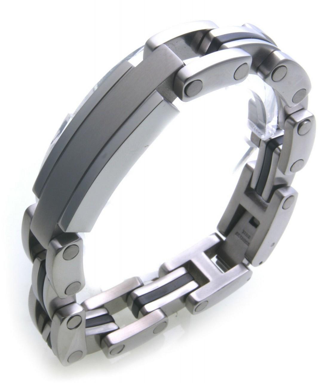 hochwertiges Armband Edelstahl Herren Kette Hardwear Landmesser Gravur möglich