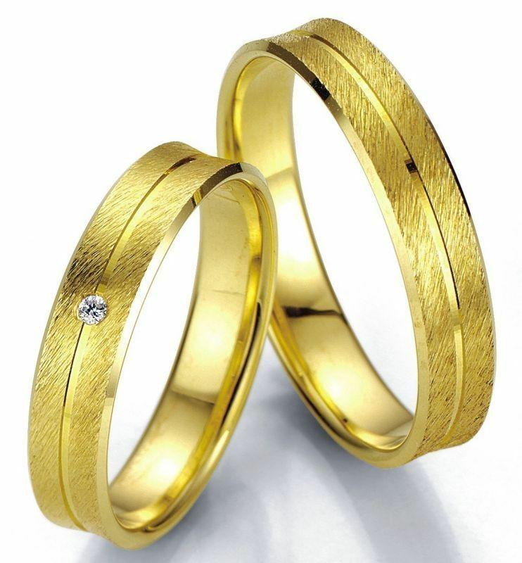 Trauringe Breuning Smartline Collection 7001/7002 in 585 Gold 14 kt