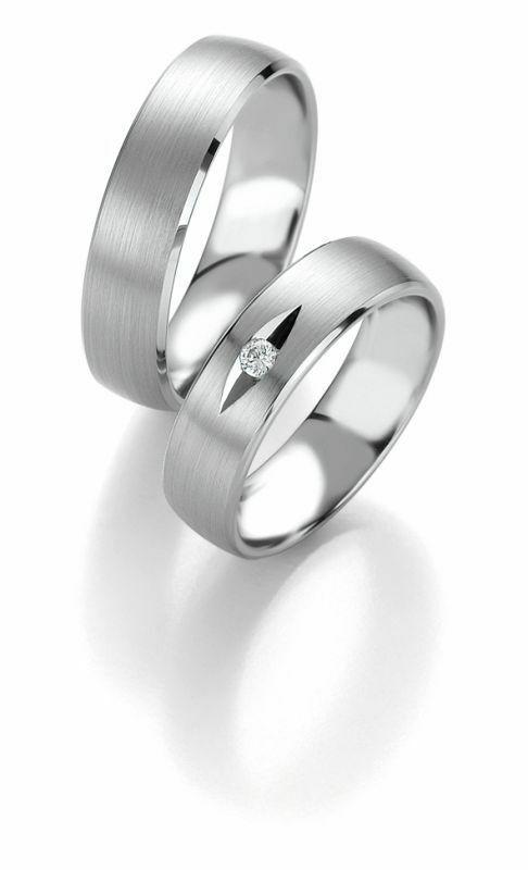 Trauringe Breuning Platin Design Collection 9054/9055 in Platin 950/-