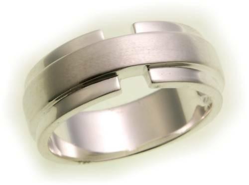Herren Ring echt Silber 925 mattiert Sterlingsilber Qualität massiv Neu Top