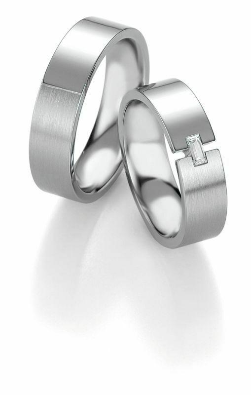 Trauringe Breuning Platin Design Collection 9060/9061 in Platin 950/-