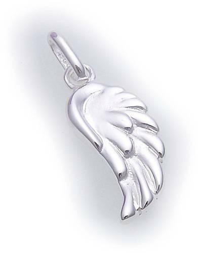 Anhänger Flügel Schwinge Engelsflügel echt Silber 925 Sterlingsilber Unisex