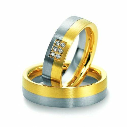 Trauringe Breuning Premium Collection 3550/3551 in 585