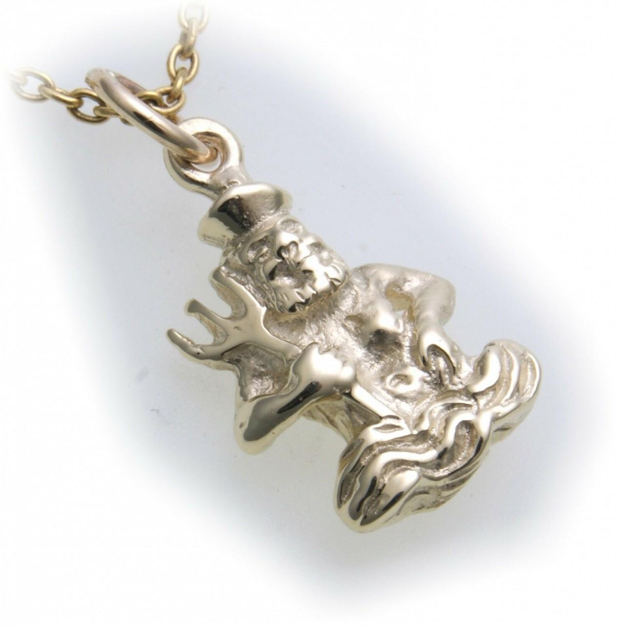 Anhänger Sternzeichen Wassermann Sterling Silber 925 Tierkreiszeichen Horoskop
