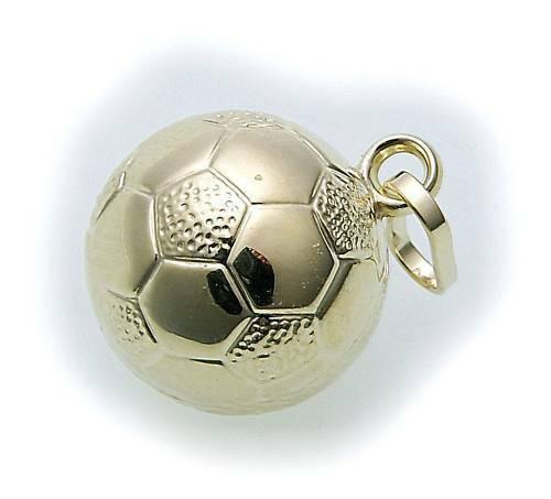 Anhänger Fußball Weltmeisterschaft WM 2014 333 Gold Fussball Gelbgold Unisex