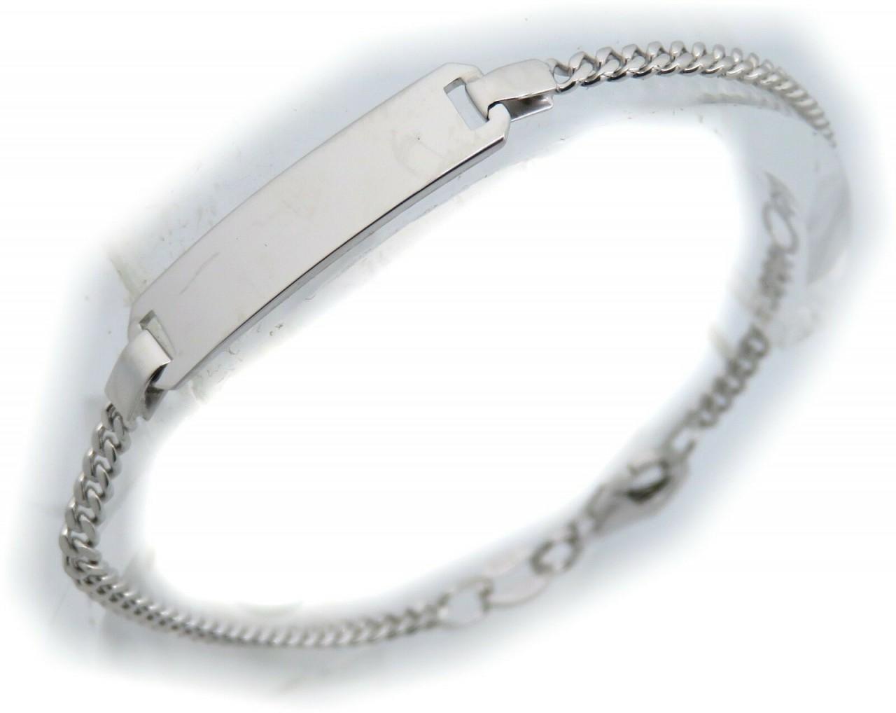 Kinderarmband Panzerkette 12-14 cm incl. Gravur echt Silber 925 Armband Neu Top
