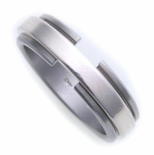 Damenring Ring in Edelstahl beweglich eingeh.