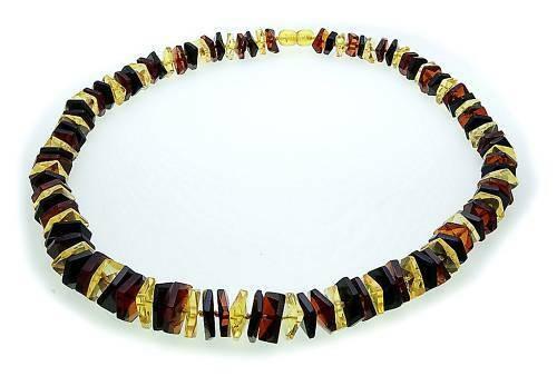 Hals Kette echter Bernstein aus der Ostsee Collier Damen Halskette Qualität AS6