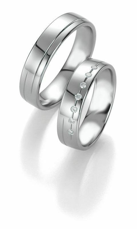 Trauringe Breuning Platin Design Collection 9086/9087 in Platin 950/-