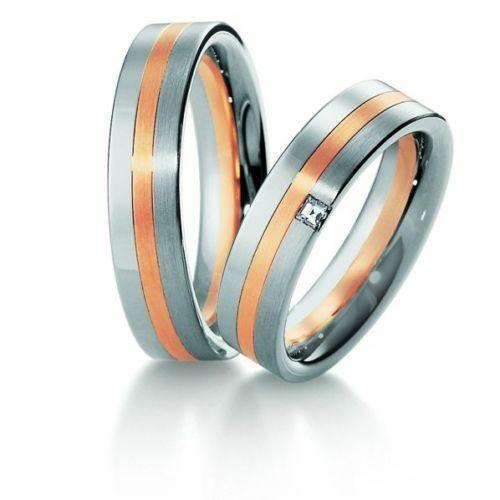 Trauringe Breuning Premium Collection 4005/4006 in 585