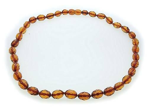 Hals Kette echter Bernstein aus der Ostsee Collier Damen Halskette Qualität AL3