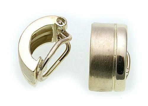 Damen Ohrringe Ohrclip echt Gold 333 Gelbgold Clips Qualität