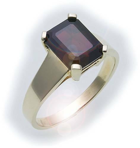 Damen Ring m. Granat in Gold 333 Granatring Gelbgold Qualität 8109/3GR
