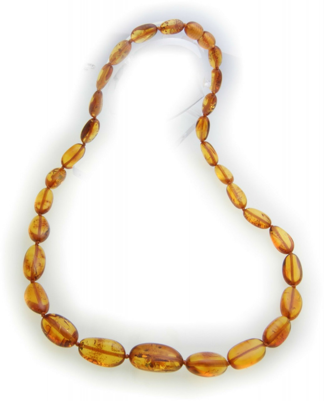 Hals Kette echter Bernstein aus der Ostsee Collier Damen Halskette Qualität NEU