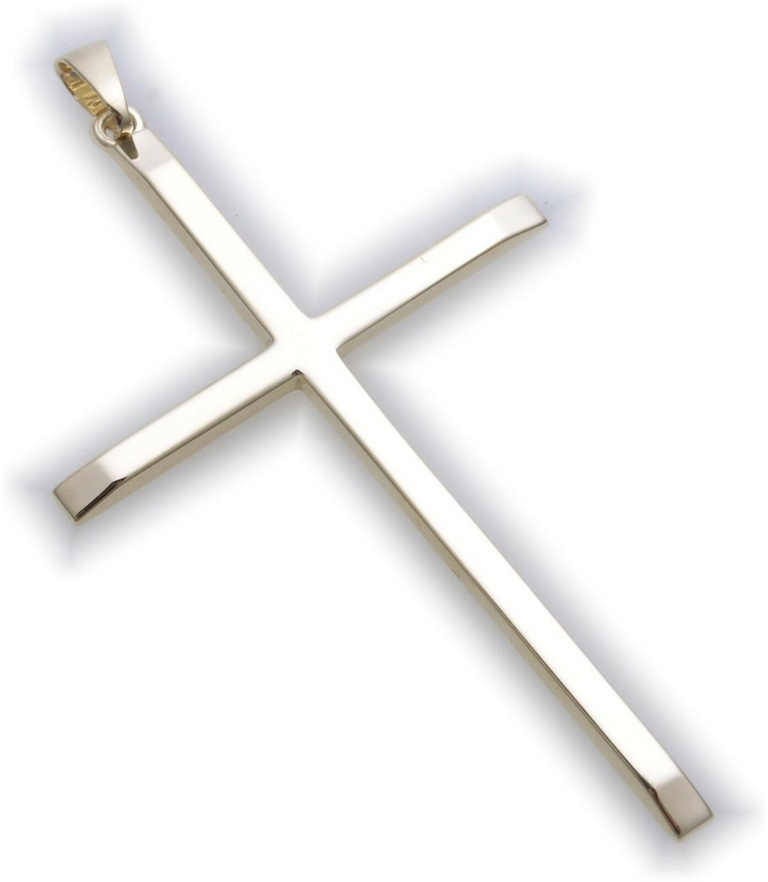 Anhänger Kreuz echt Gold 333 55 mm Gelbgold Unisex