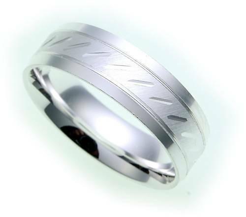 Damen Ring echt Silber 925 mattiert diamantiert Sterlingsilber Qualität Z1137