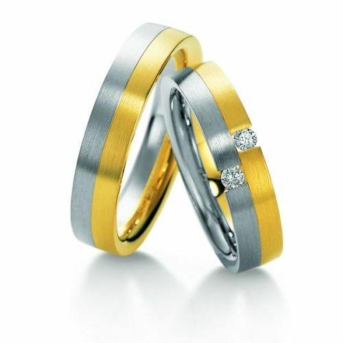 Trauringe Breuning Premium Collection 3520/3521 in 585