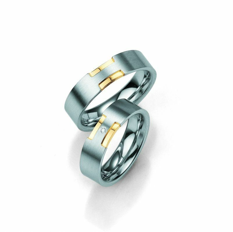 Trauringe Breuning Silver and Diamonds Collection 8007/8008 Silber 925 Ring