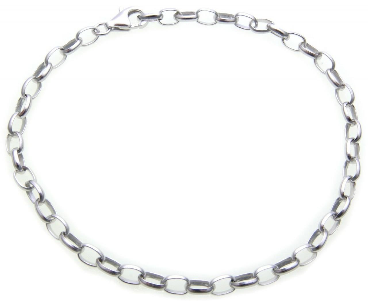 Damen Armband Kette für Charms echt Silber 925 Einhänger 19 cm Sterlingsilber